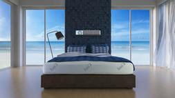 Lifestyle Sleep 10 inch Cool Memory Foam Mattress- King FREE