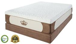 "Dynasty Mattress 13"" Cool-Breeze Gel Memory Foam Mattress-SP"
