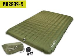 Lightspeed Outdoors 2 Person PVC-Free Air Bed Mattress for C
