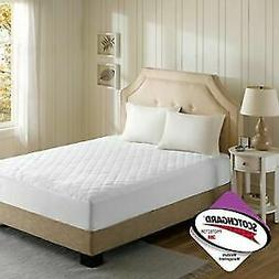 Beautyrest - 3M Scotchgard Heated Mattress Pad King Size -Se