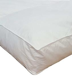 "5"" Queen Goose Down Premium Mattress Topper Featherbed / Fea"