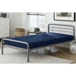 DHP 6 Inch Quilted Mattress, Multiple Sizes Colors for Bunk