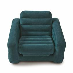 Intex 68565EP Inflatable Pull Out Sofa Chair and Twin Bed Ai