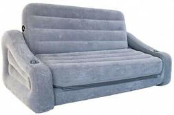 Intex 68566VM Inflatable 2 In 1 Pull Out Sofa Couch and Air