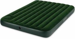 Air Bed Mattress Queen Size Intex Inflatable Downy Sleeping