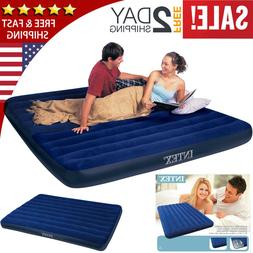 Air Bed Mattress Queen/Twin Size Intex Inflatable Downy Slee