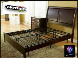 Box Spring Replacement Metal Platform Bed Frame Queen Size M