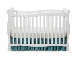 Delta Children Brookside 4-in-1 Fixed-Side Convertible Crib,