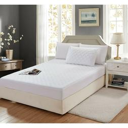 """Quilted Mattress Protector Pad Topper Cover 16"""" Deep Fitted"""