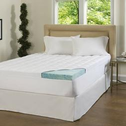 "Comforpedic Loft from BeautyRest 4.5"" Gel Memory Foam and Fi"