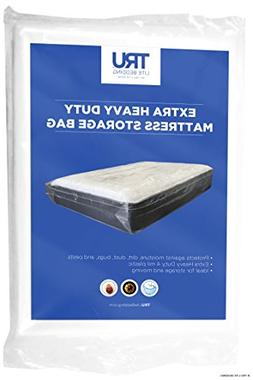 Heavy Duty Mattress Storage Bag - 4 Mil - Moving and Long Te
