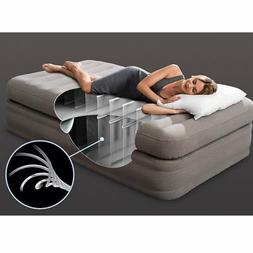 Intex Inflatable Prime Comfort Elevated Airbed Mattress with