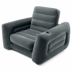 Intex Inflatable Pull Out Sofa Chair Sleeper with Twin Sized