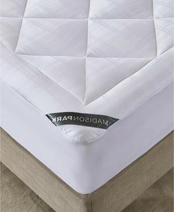 Madison Park King Mattress Pad 525 TC Cotton Rich Down Alter