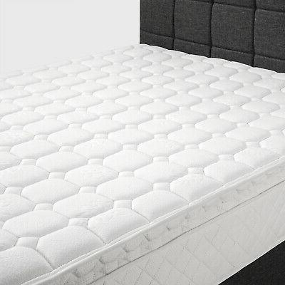 """Extra Pillow Top Bedroom Innerspring 10"""" Twin Full King"""