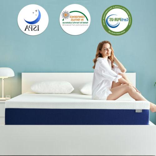 8 Inch Full Size Memory Foam Mattress With More Pressure Rel