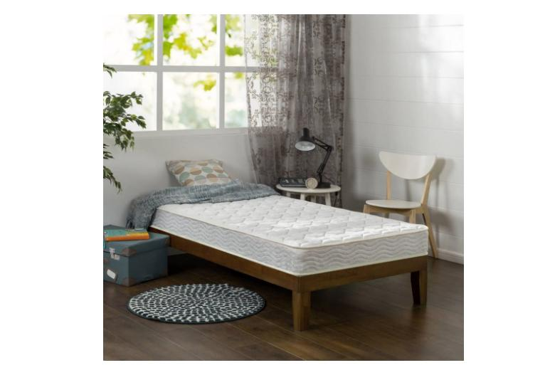 6 bunk twin size foam bed spring