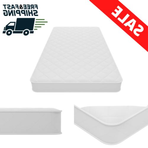 6 inch coil mattress twin size firm