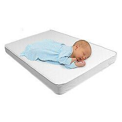 Bassinet and Cradle Mattress Pad Firm Foam Bedding with Wate
