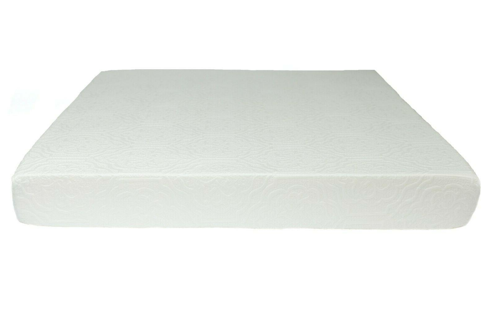 """Handcrafted in USA, 6"""" Cool Gel Memory Mattress,"""