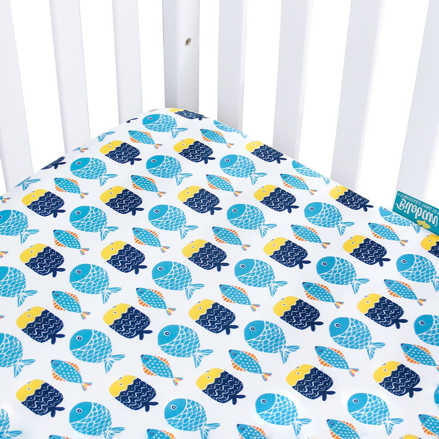 """Standard Crib Mattress for Baby Ultra Covers 2 Pack 52""""x28"""""""