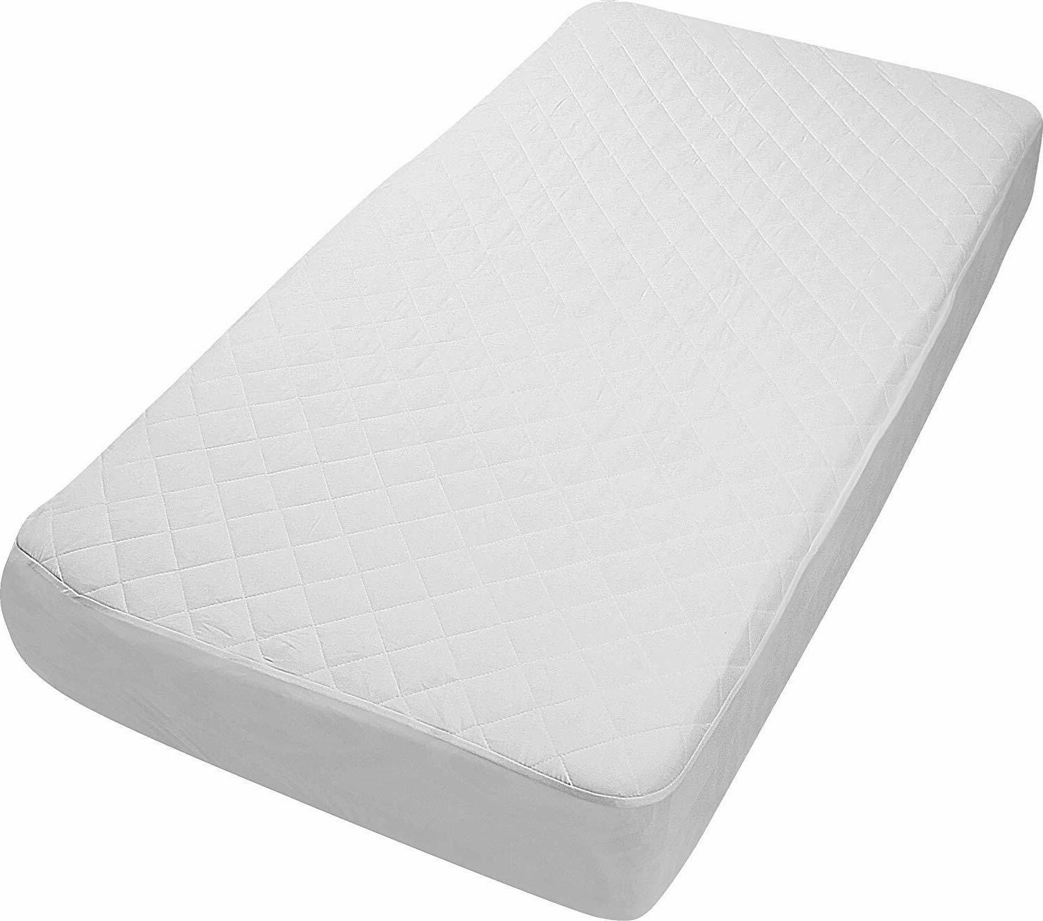Pack of Crib Pad Cover Toddler and Utopia Bedding