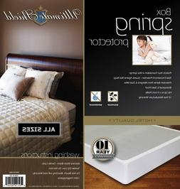 Mattress Box Spring Cover/Protector Bed Bug Hypoalergenic  E