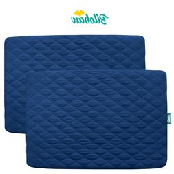 Mini Crib Mattress Pad Cover Fitted Pack N Play Protector Sh
