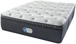 New King Simmons Beautyrest Platinum Westbrook Luxury Firm P