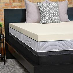 Sealy Perfect Chill 3-Inch Memory Foam Cooling Mattress Topp