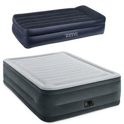 Intex Queen Comfort Plush High Rise Airbed & Twin Sized Air