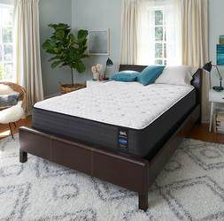 "Sealy Response Performance 11.5"" Plush Tight Top Mattress, S"