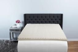 "Simmons Beautyrest BigSleep 3"" Convoluted Foam Topper Califo"
