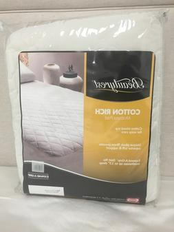 Simmons Beautyrest Cotton Rich Mattress Pad, Full