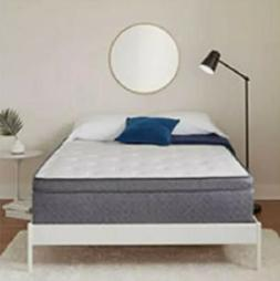 "SERTA SLEEPTRUE HYBRID 13"" EURO TOP FULL MATTRESS"