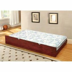 Furniture of America Villacorta Twin XL Quilted Coil Trundle