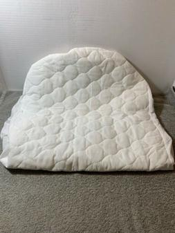 American Baby Company Waterproof Fitted Quilted Bassinet Mat