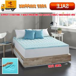 zoned fusion gel memory foam 1 mattress